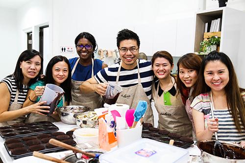 Baking Teambuilding Corporate Workshop