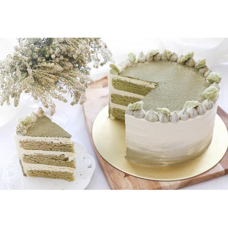 Matcha White Chocolate Cake Singapore