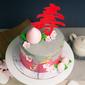 Best Modern Concrete Longevity in Pink Birthday Cake Singapore