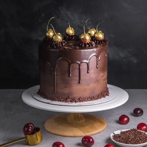 Chocolate Cherry Elegance