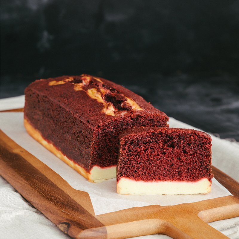 Red Velvet Cheese Loaf | Online Cake Delivery Singapore | Baker