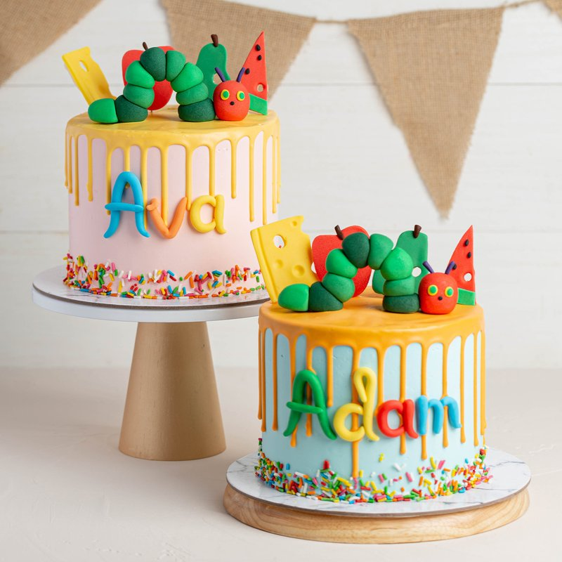 Hungry Caterpillar Cake | Online Cake Delivery Singapore | Baker