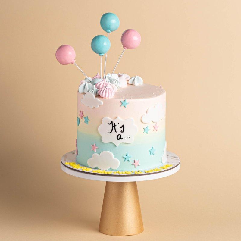 Best Gender Reveal Cake   Online Cake Delivery Singapore   Baker
