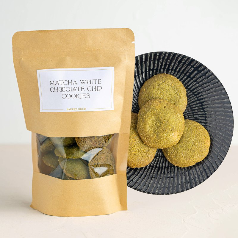 Matcha White Chocolate Chip Cookie | Online Cookie Delivery | Baker